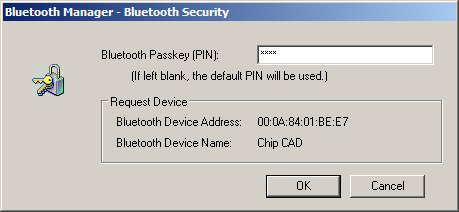 Bluetooth device setup. Step 3.